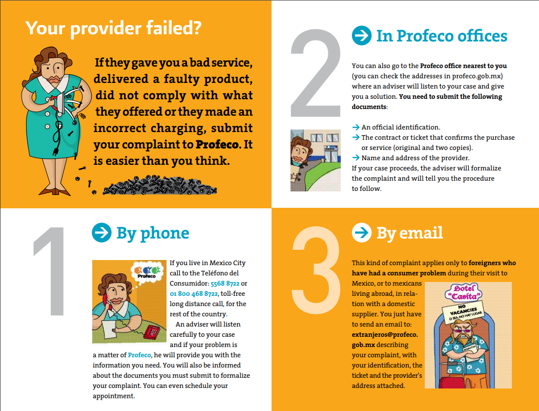 How to File a Complaint with PROFECO- Mexico's Consumer Protection