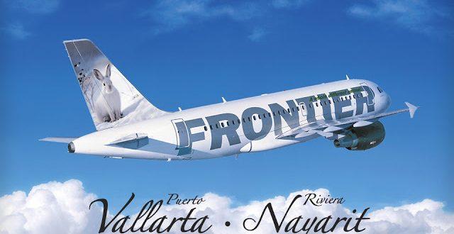 frontier airlines puerto vallarta