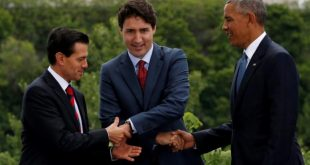 North America leaders mount strong defense of trade