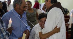Couple in Mexico receives church wedding after half-century wait