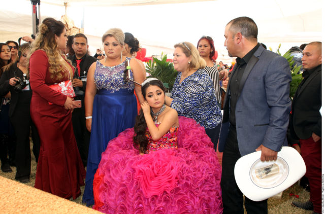 Thousands Attend Rubi S Quinceneara In San Luis Potosi
