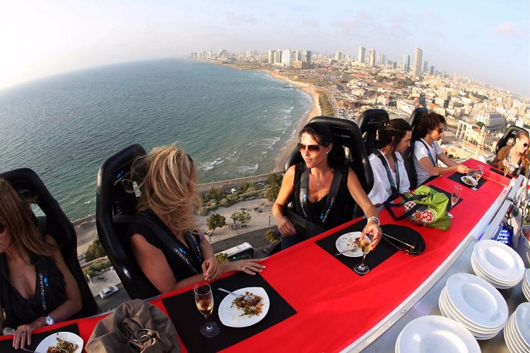 Dinner in the Sky comes to Puerto Vallarta, Mexico
