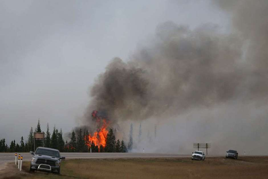 canada forest fires