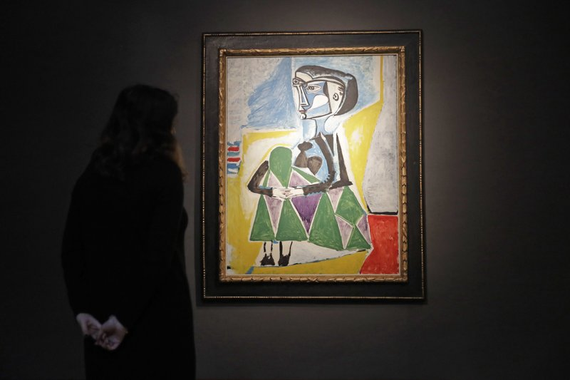 Picasso portrait of muse up for sale