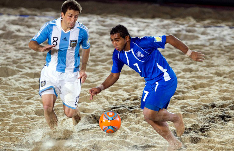 international beach soccer
