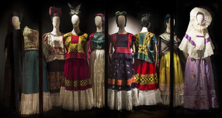 frida kahlo's dresses