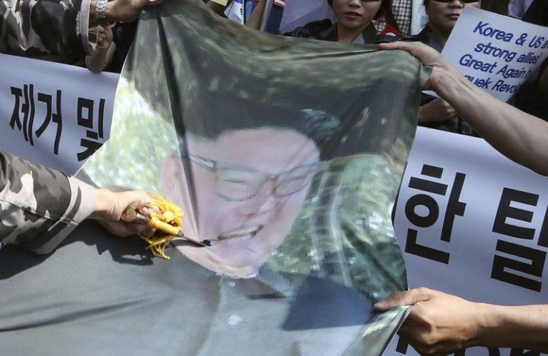north korea missle test