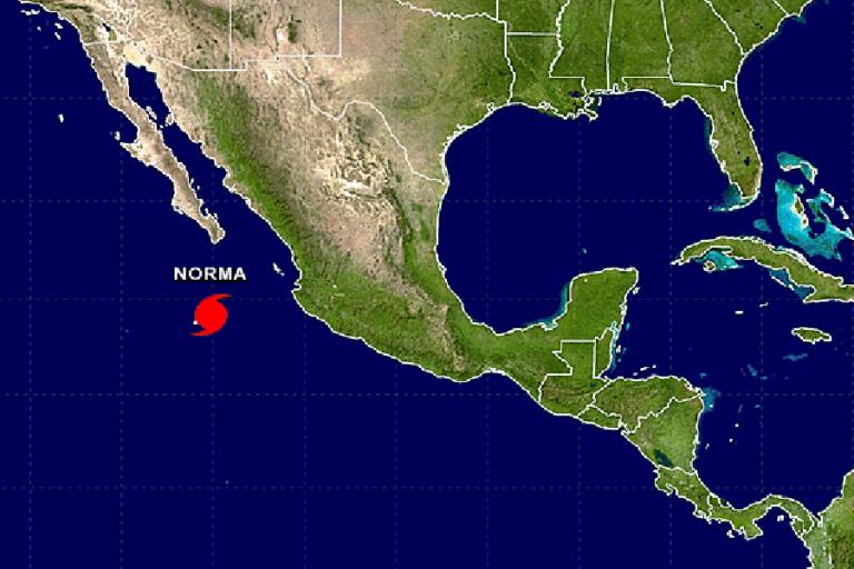 hurricane norma