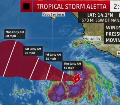 Tropical Storm Aletta
