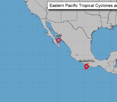 Tropical Storm Carlotta