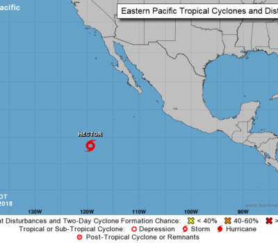 tropical storm hector