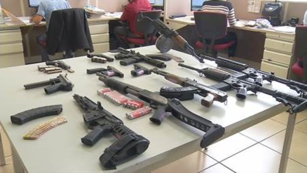 Texas guns believed to be used in drug-related murders in Mexico