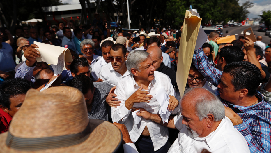 Mexican president elect introduces civilian head of security