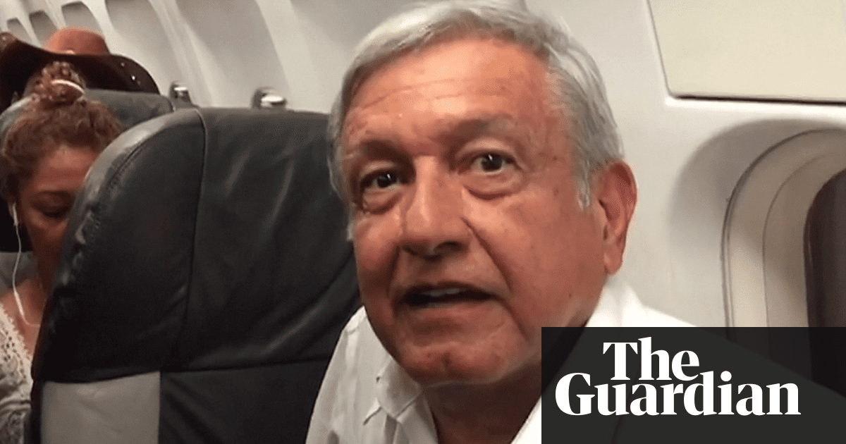Mexico's president-elect vows to ditch official plane or 'die of shame'