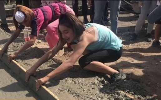Build A Miracle: New high school club helps build homes in Mexico