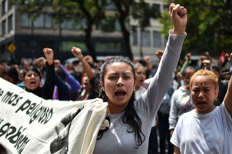 Mexico's Lopez Obrador pledges justice for 43 missing students