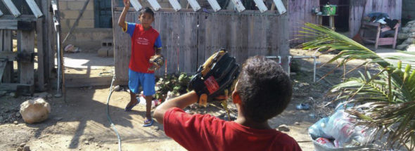 Swinging for the fences:Trio spreading love of baseball to Mexico