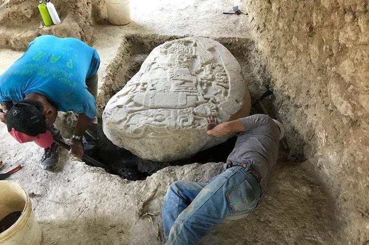 mayan alter guatemala
