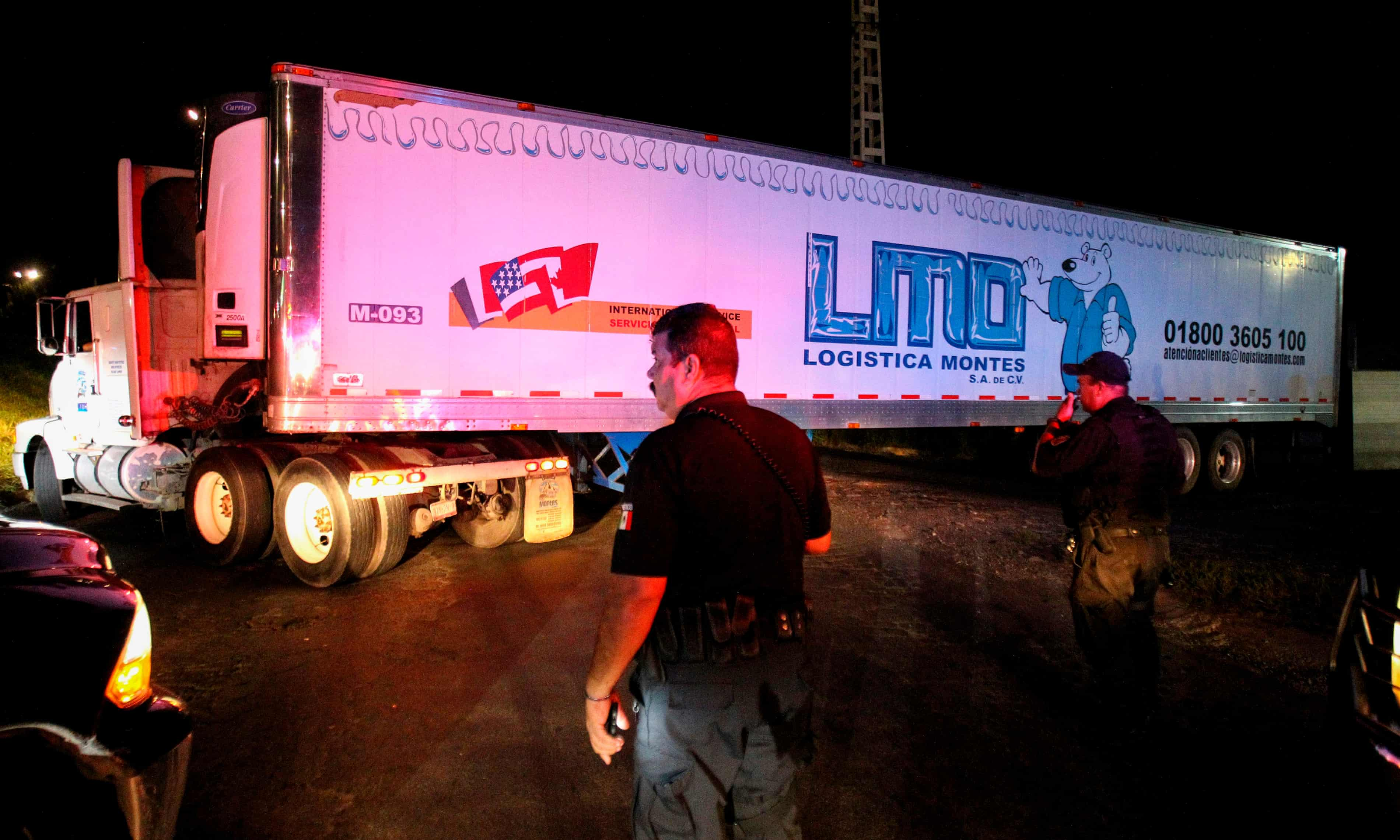 'A smell of death:' Mexico's truck of corpses highlights drug war crisis