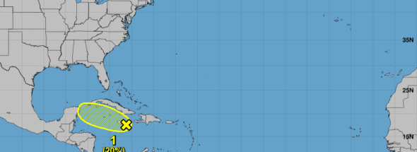 Remnants of Hurricane Isaac might redevelop, move into Gulf of Mexico, NHC says