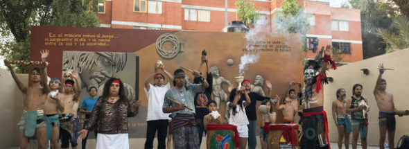 An Ancient Ballgame Makes A Comeback In Mexico