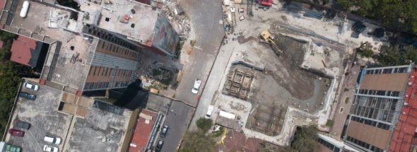 Damaged buildings, graft haunt Mexico City year after quake