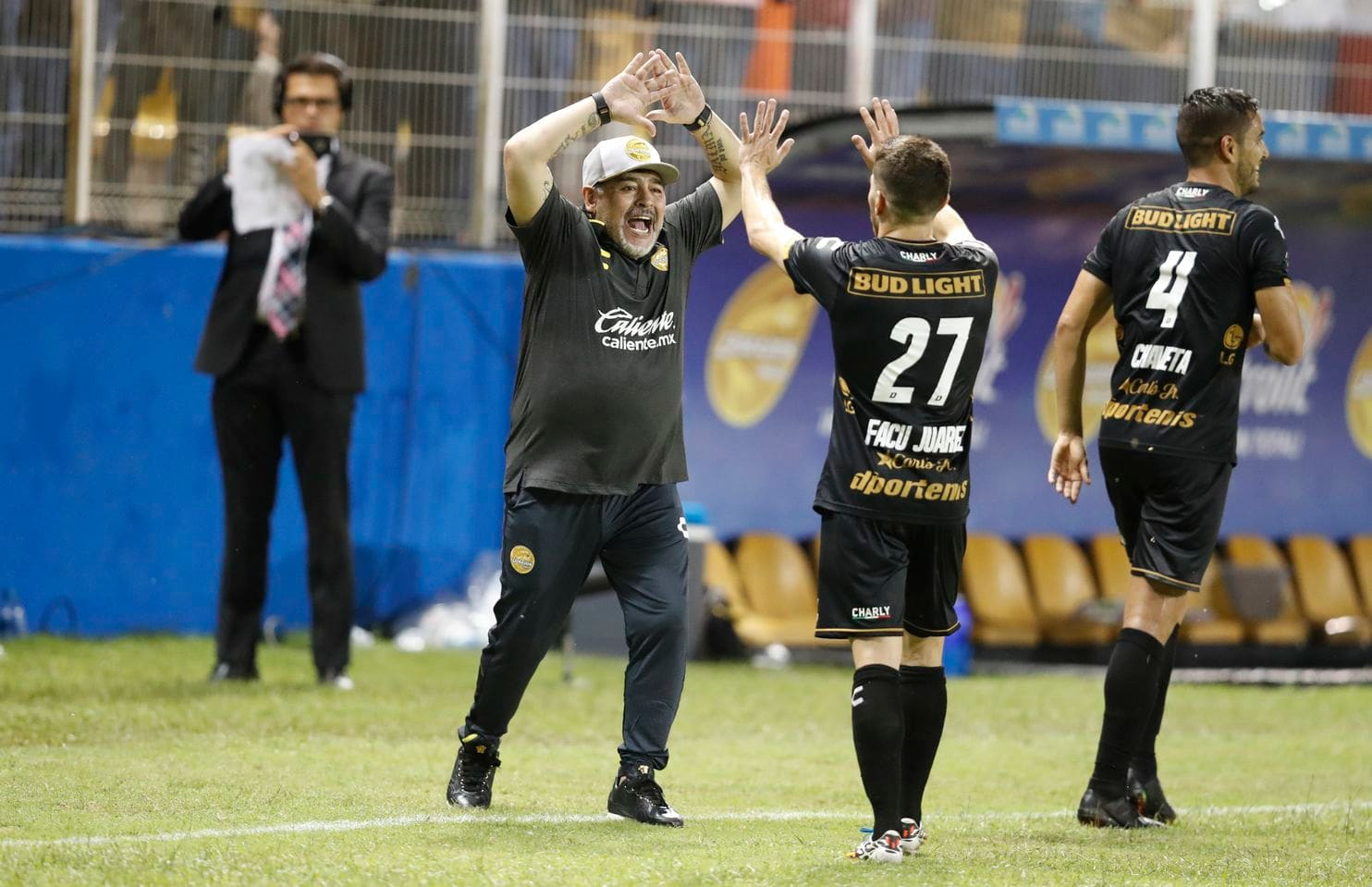 'We don't want Maradona': Soccer legend gets a mixed welcome in Mexico's Sinaloa