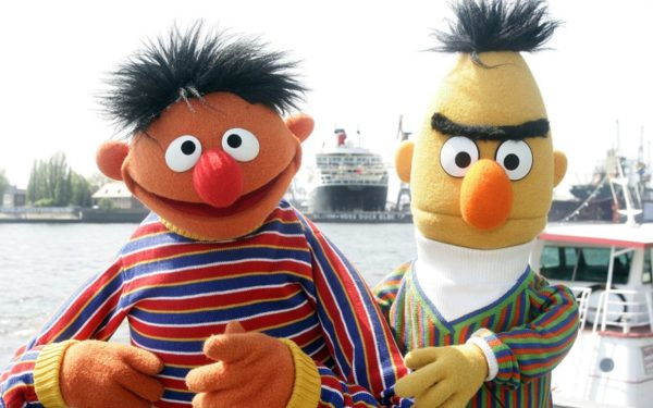 Bert and Ernie arent gay