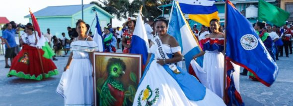 Central America and Mexico's Independence celebrated on Ambergris Caye