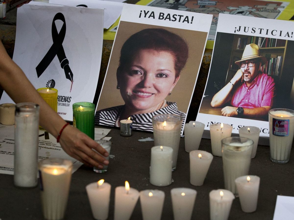 One man arrested, three others sought in latest killing of a journalist in Mexico