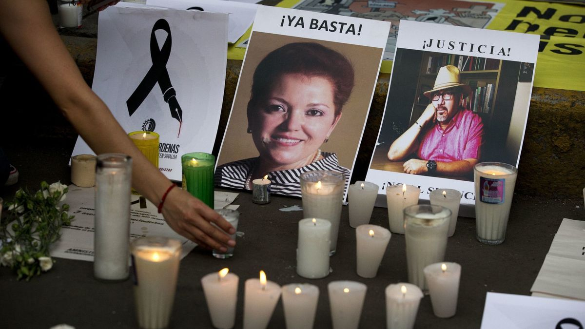 He reported threats against his life. This week, he became the ninth journalist killed in Mexico this year