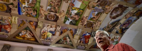 A replica of the Sistine Chapel has opened in Mexico City