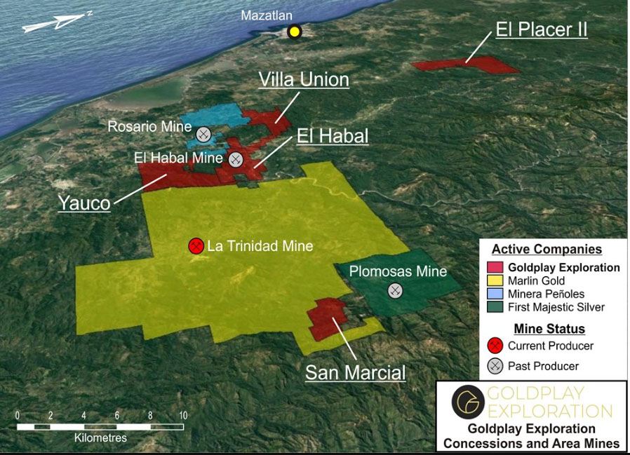 New High-Grade Mineralization Discovered at Mexico Project