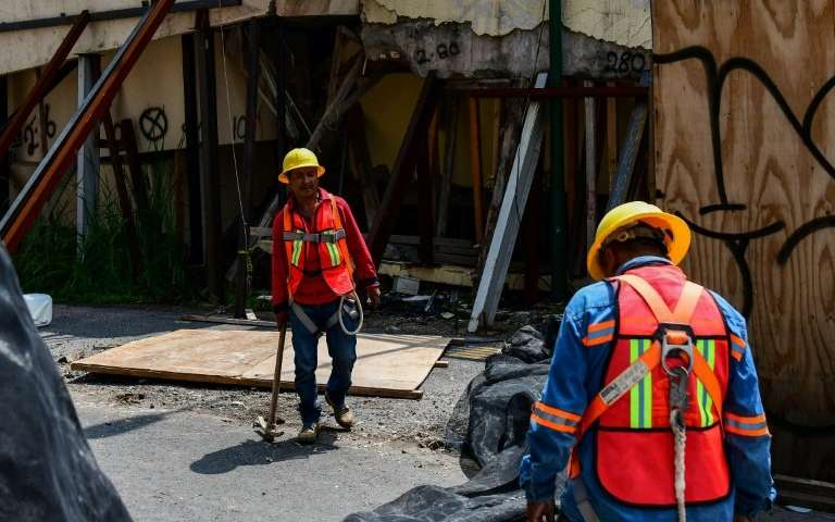 Mexico marks twin anniversaries of deadly quakes