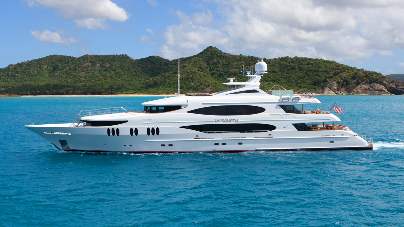 Experience unforgettable Mexico with a charter on 164'/50m M/Y Impromptu