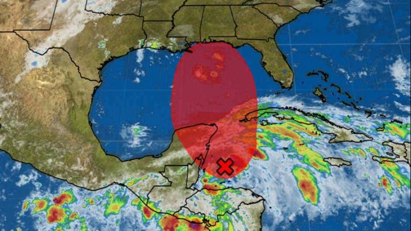 Potential Tropical Cyclone Fourteen Triggers Tropical Storm Warnings, Watches in Cuba, Mexico; U.S. Gulf Coast Threat Next Week