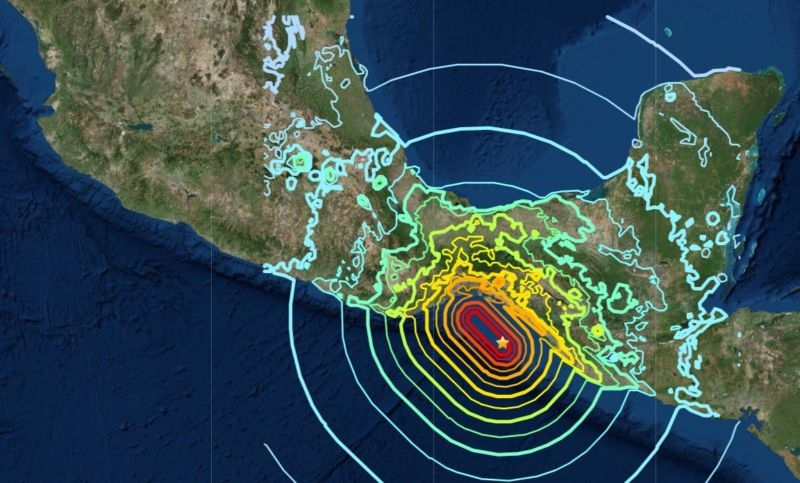 2017 earthquake off Mexico broke through an entire tectonic plate
