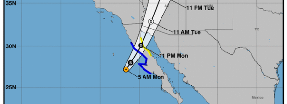 "Rosa threatens ""life-threatening flash flooding"" in Mexico, Southwest U.S."