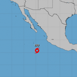 Tropical Storm Ivo forms west of Mexico