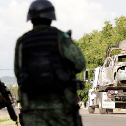 Gang violence hits Mexican leader's ratings, U.S. warns of 'parallel government'