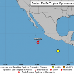 Tropical Storm Raymond forms in Pacific off western Mexico
