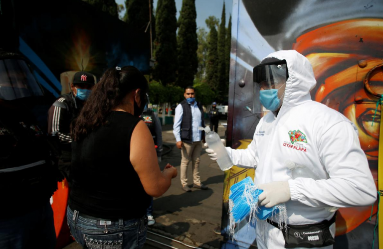 Mexico reports 2,764 new cases of COVID-19 today