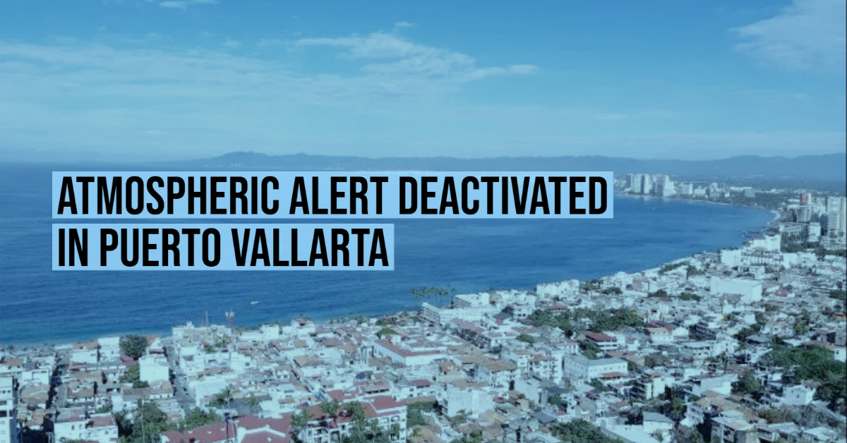 Atmospheric alert deactivated in Puerto Vallarta