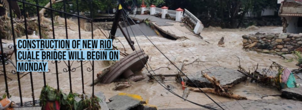 Construction of new Rio Cuale bridge will begin on Monday