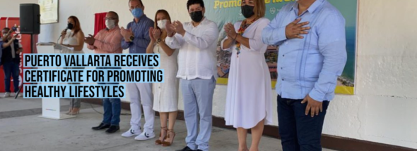 Puerto Vallarta receives certificate for promoting healthy lifestyles